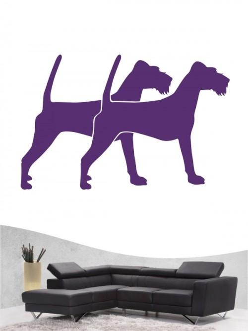 Irish Terrier 2 - Wandtattoo