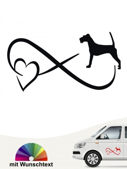 Irish Terrier Autoaufkleber von anfalas.de