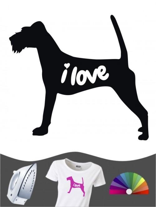 Irish Terrier 43 - Bügelbild