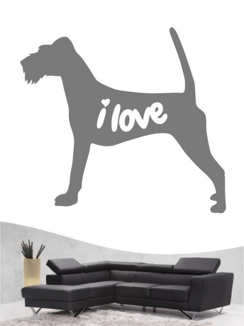Irish Terrier 43 - Wandtattoo