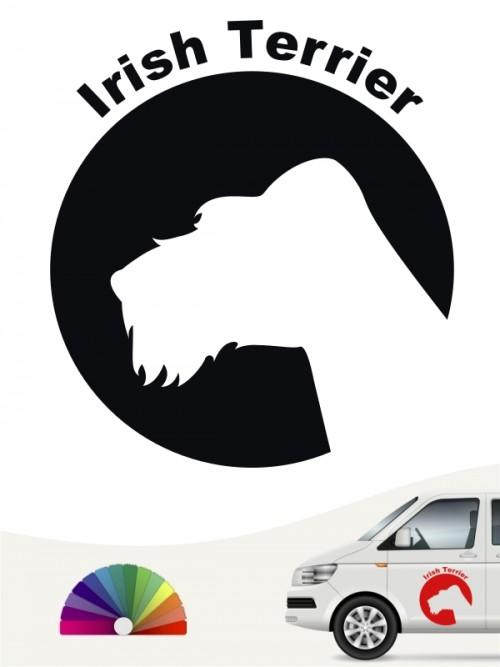 Irish Terrier Aufkleber von anfalas.de