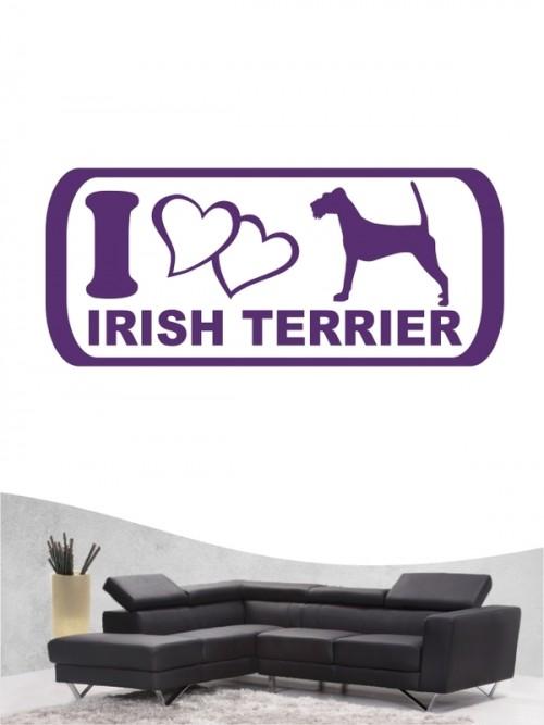 Irish Terrier 6 - Wandtattoo