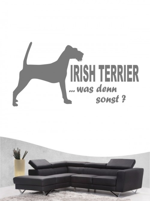 Irish Terrier 7 - Wandtattoo