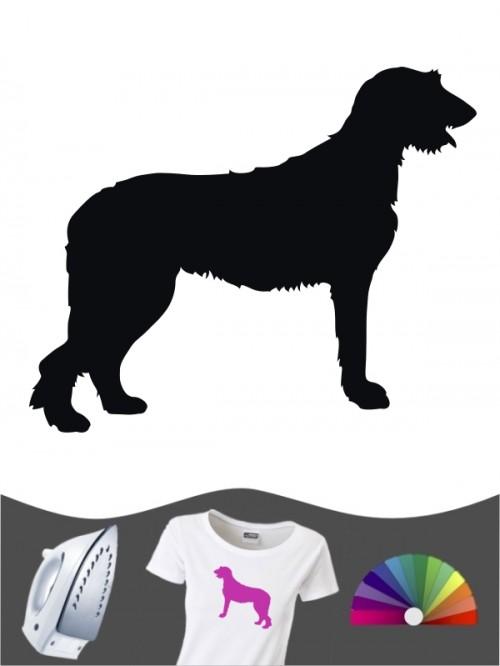 Irish Wolfhound 1 - Bügelbild