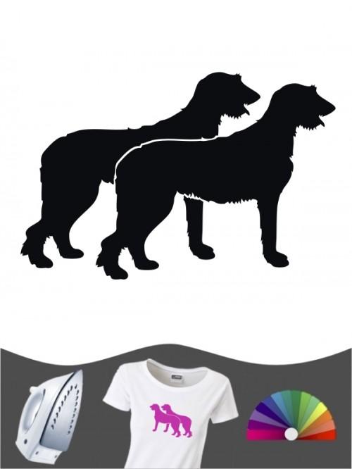 Irish Wolfhound 2 - Bügelbild