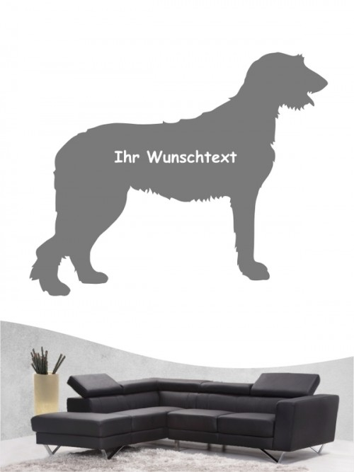 Irish Wolfhound 3 - Wandtattoo