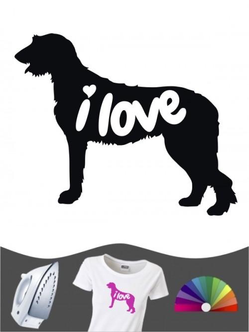 Irish Wolfhound 43 - Bügelbild
