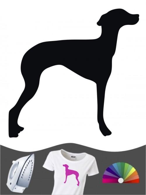 Hunde-Bügelbild Italienisches Windspiel 1 von Anfalas.de