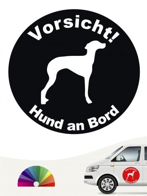 Ital. Windspiel Aufkleber von anfalas.de