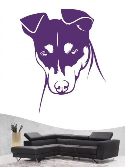 Jack Russell Terrier 11b - Wandtattoo