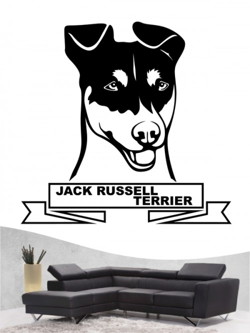 Hunde-Wandtattoo Jack Russell Terrier 16 von Anfalas.de
