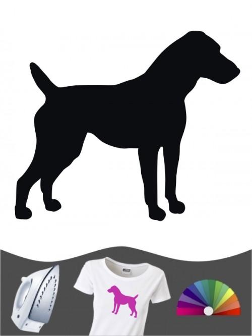 Jack Russell Terrier 1 - Bügelbild