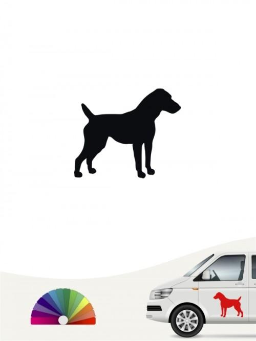 Hunde-Autoaufkleber Jack Russell Terrier 1 Mini von Anfalas.de