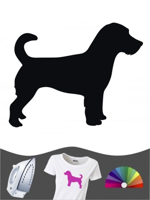 Jack Russell Terrier 1a - Bügelbild