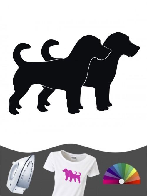 Jack Russell Terrier 2a - Bügelbild