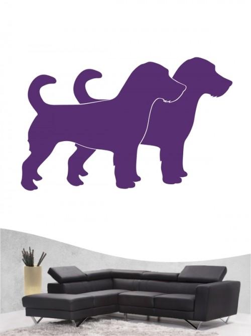 Jack Russell Terrier 2a - Wandtattoo