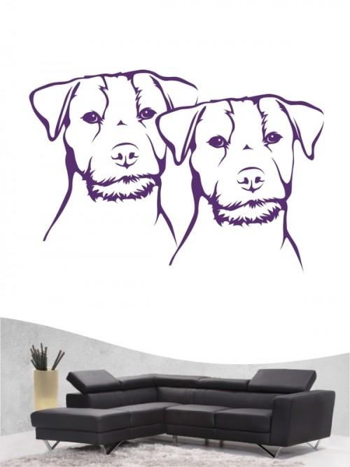Jack Russell Terrier 30 - Wandtattoo