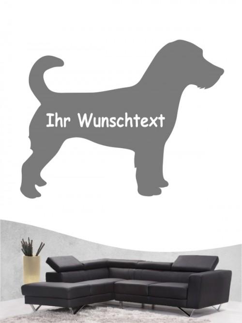 Jack Russell Terrier 3a - Wandtattoo