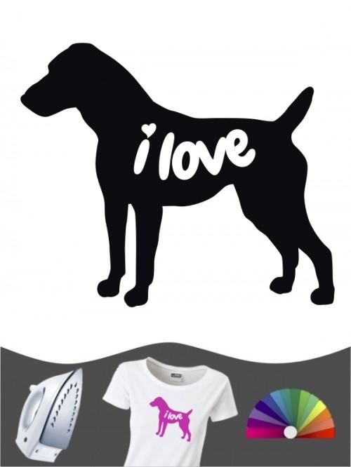 Jack Russell Terrier 43 - Bügelbild