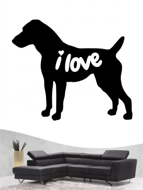 Jack Russell Terrier 43 - Wandtattoo