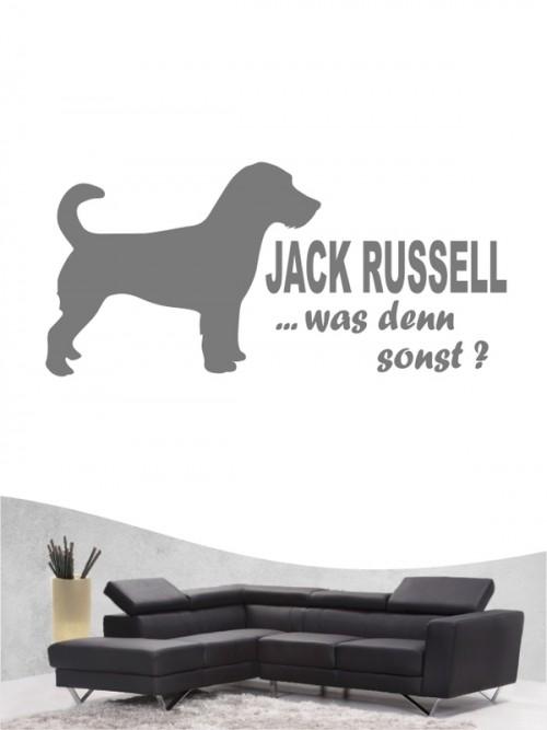 Jack Russell Terrier 7a - Wandtattoo