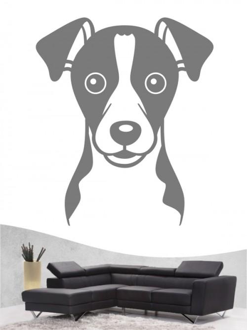 Jack Russell Terrier Comic 1 - Wandtattoo