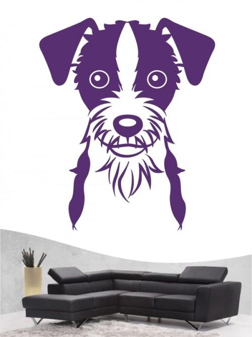 Jack Russell Terrier Comic - Wandtattoo