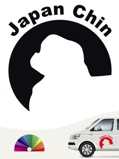Japan Chin Aufkleber von anfalas.de