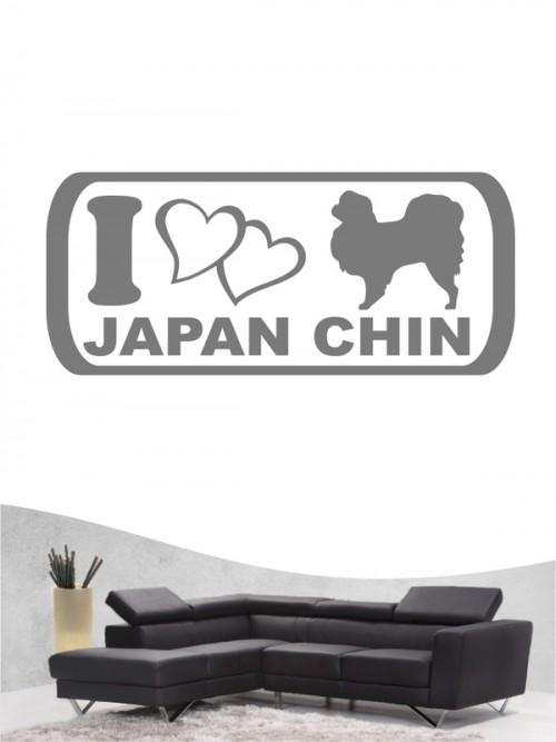 Japan Chin 6 - Wandtattoo