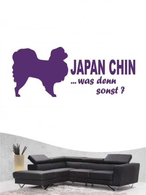 Japan Chin 7 - Wandtattoo