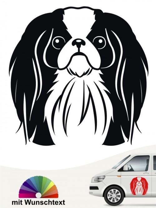 Japan Chin Comic Kopf Autoaufkleber von anfalas.de
