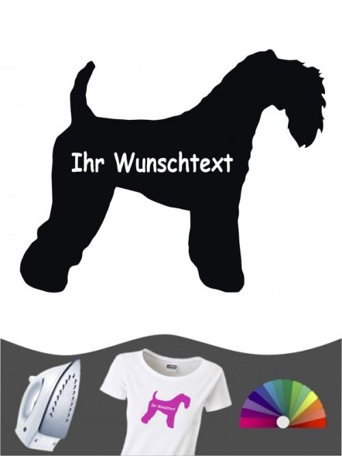 Kerry Blue Terrier 3 - Bügelbild