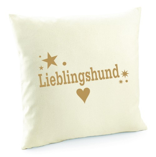 "Kissenbezug ""Lieblingshund"""
