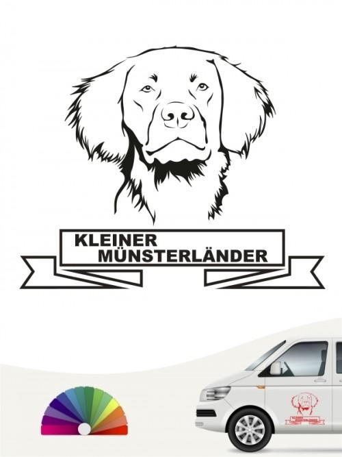 Hunde-Autoaufkleber Kleiner Münsterländer 15 von Anfalas.de