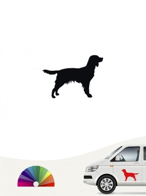 Hunde-Autoaufkleber Kleiner Münsterländer 1a Mini von Anfalas.de