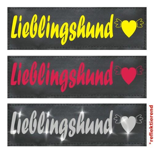 Klettlogo Lieblingshund Beispielbild  1 Wunschlogo24.de