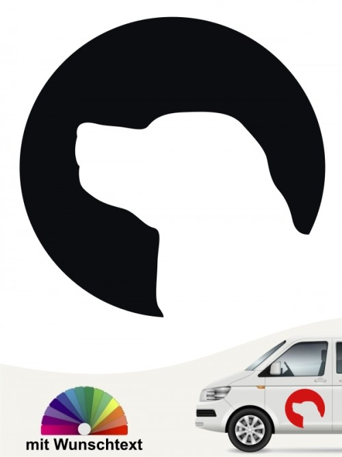 Kooikerhondje Sticker mit Wunschtext von anfalas.de