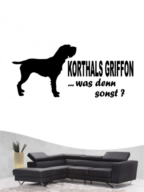 Korthals Griffon 7 - Wandtattoo