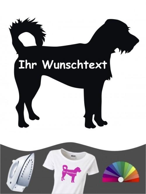 Hunde-Bügelbild Kromfohrländer Rauhhaar 3 von Anfalas.de