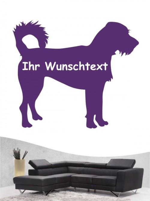 Hunde-Wandtattoo Kromfohrländer Rauhhaar 3 von Anfalas.de