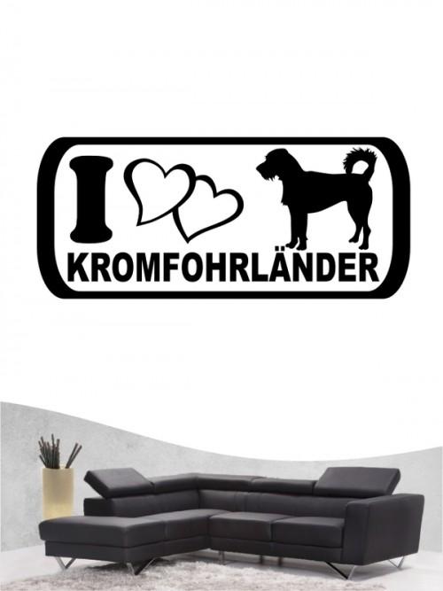 Hunde-Wandtattoo Kromfohrländer Rauhhaar 6 von Anfalas.de
