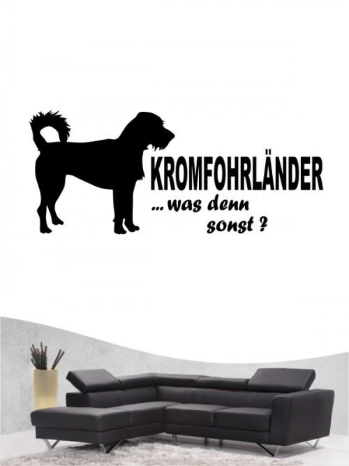 Hunde-Wandtattoo Kromfohrländer Rauhhaar 7 von Anfalas.de