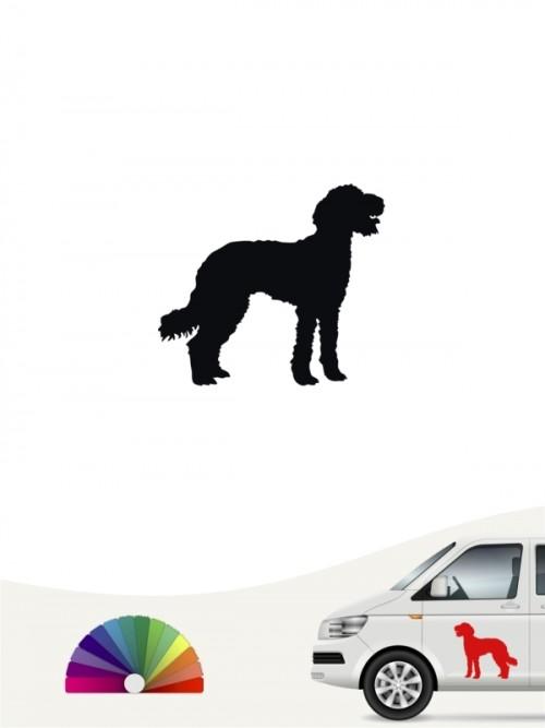 Hunde-Autoaufkleber Labradoodle 1 Mini von Anfalas.de