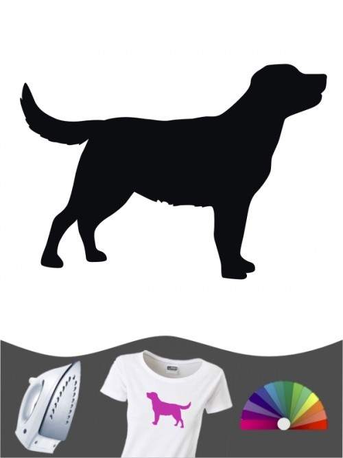 Labrador Retriever 1 - Bügelbild