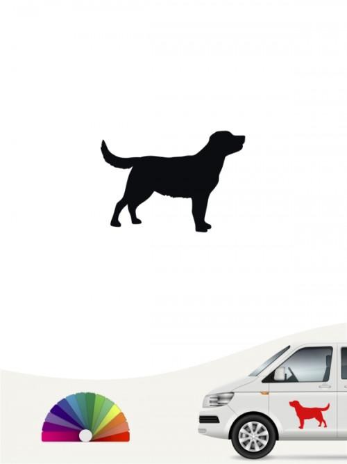 Hunde-Autoaufkleber Labrador Retriever 1 Mini von Anfalas.de