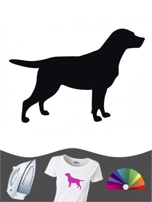 Labrador Retriever 1a - Bügelbild