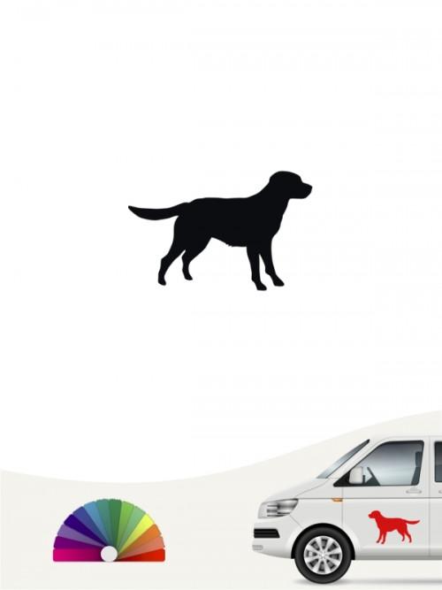 Hunde-Autoaufkleber Labrador Retriever 1b Mini von Anfalas.de