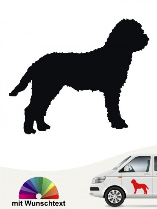 Lagotto Romagnolo Hundeaufkleber von anfalas.de