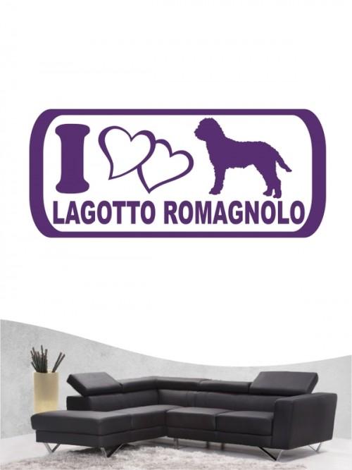 Lagotto Romagnolo 6 - Wandtattoo