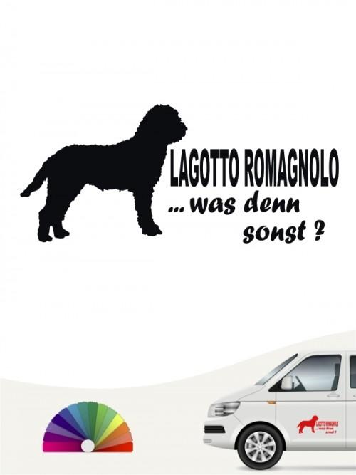 Lagotto Romagnolo was denn sonst Aufkleber von anfalas.de